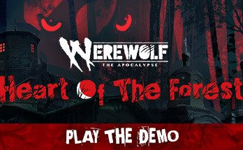 Werewolf The Apocalypse Heart of the Forest Before the Ashes Flipper
